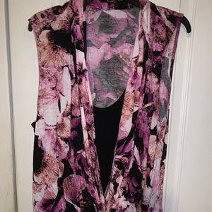 Jennifer Lopez floral shirt